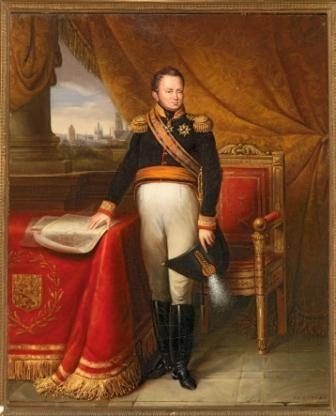 J.J. de Langhe (1800-1865), Portret van Koning Willem I. Legaat van Mr. S.H. Sieperda, 2008.