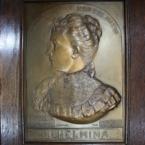 Aankoop plaquette ter gelegenheid inhuldiging Koningin Wilhelmina