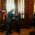 Koninklijke onderscheiding voor scheidend voorzitter GVON Jim van der Meer Mohr