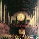 Huwelijk prinses Sophie der Nederlanden, prinses van Oranje-Nassau (1824-1897) met Carl Alexander van Saksen-Weimar-Eisenach in Gotische zaal paleis Kneuterdijk 1842, Bartholomeus Johannes van Hove