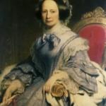 Groothertogin Maria Pawlowna als weduwe, Friedrich Dürck, Olieverf, Schlossmuseum Weimar (Kat.17.29)